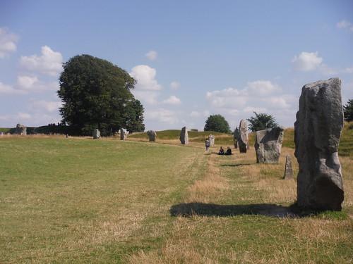 Avebury Standing Stones, SW quartile SWC Walk 255 Pewsey or Marlborough Circular via Avebury