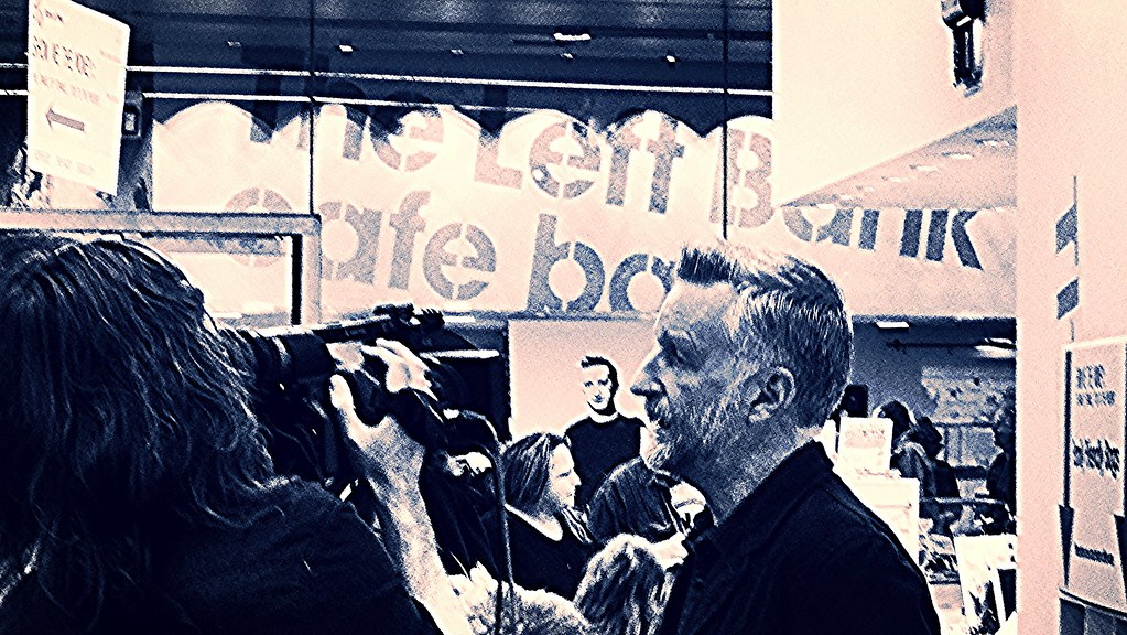 Billy Bragg at The People's Museum 3rd October