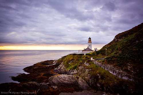 lighthouse sunrise dawn coast head douglas isleofman