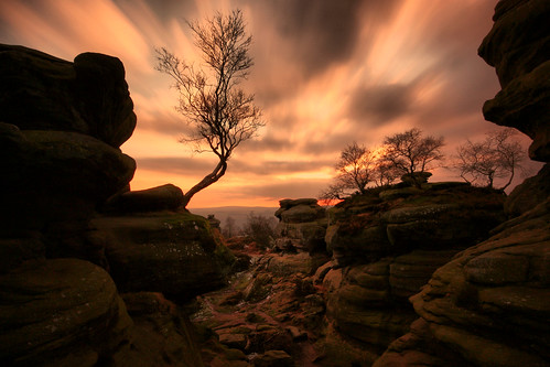 park uk trip travel winter light sunset shadow england tree english andy silhouette rock clouds canon landscape photography evening countryside photo scenery rocks long exposure view cloudy britain yorkshire united great scenic sigma kingdom scene erosion formation national watson british nationaltrust brimham dales brimhamrocks 450d