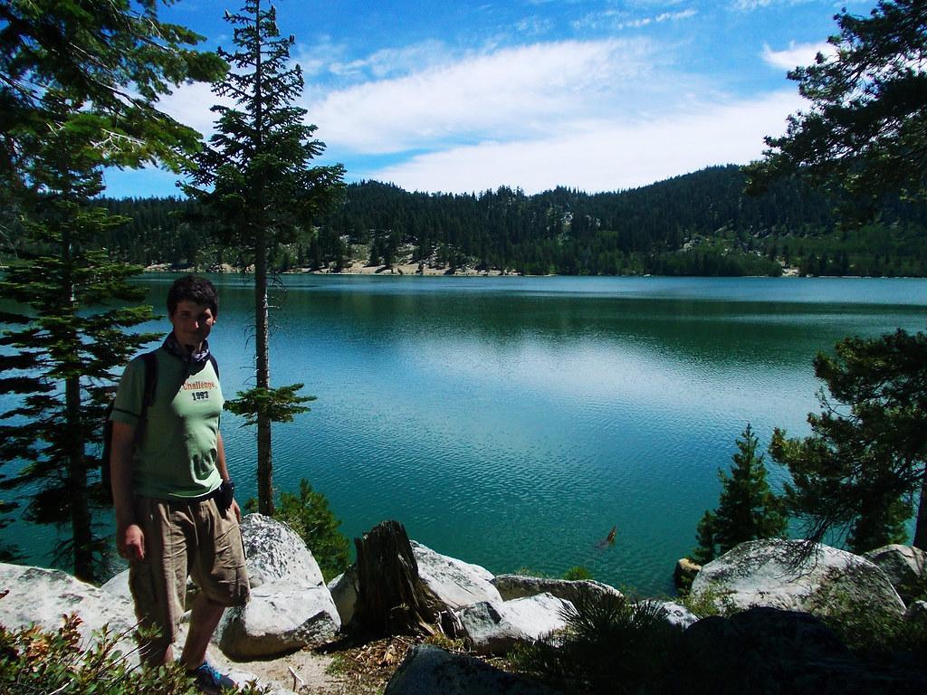 Marlette Lake at Lake Tahoe, California