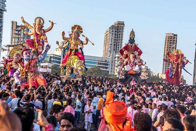 Ganesh visarjan   Mumbai   2015 Shot on Nikon d750 Nikon AF 80-200mmf2.8