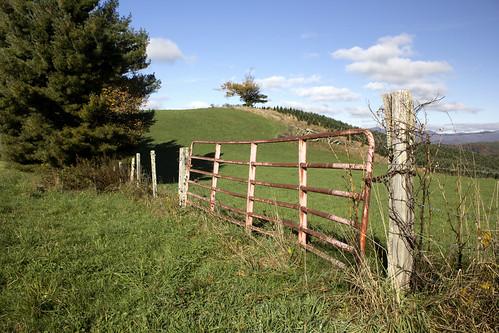 mountain landscape nc gate northcarolina blueridgeparkway