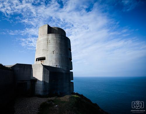 tower architecture nikon bunker german jersey channelislands worldwar2 d5100 batterymoltke