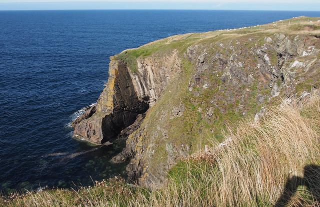 The coast east of Aberdour