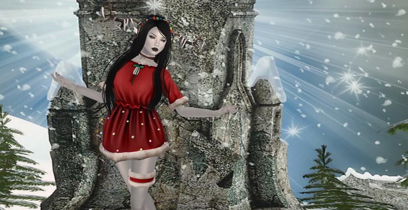 Christmas Snow Elf
