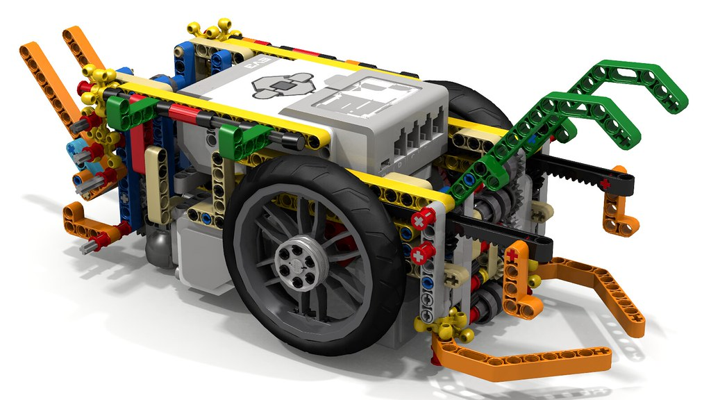 Lego Mindstorms EV3 FLL Robot Using Driving Rings | I was in… | Flickr