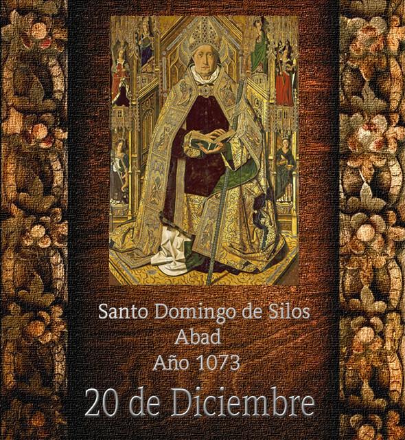 Santo Domingo de Silos.(†Dedicado  al P.Cotallo)