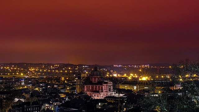 Cathédrale de nuit(NAMUR)