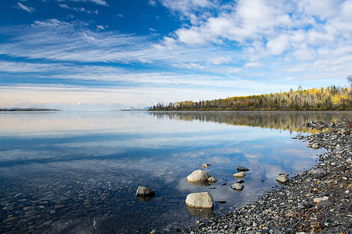 Cariboo Lake in Cariboo River Provincial Park, Cariboo, British Columbia, Canada