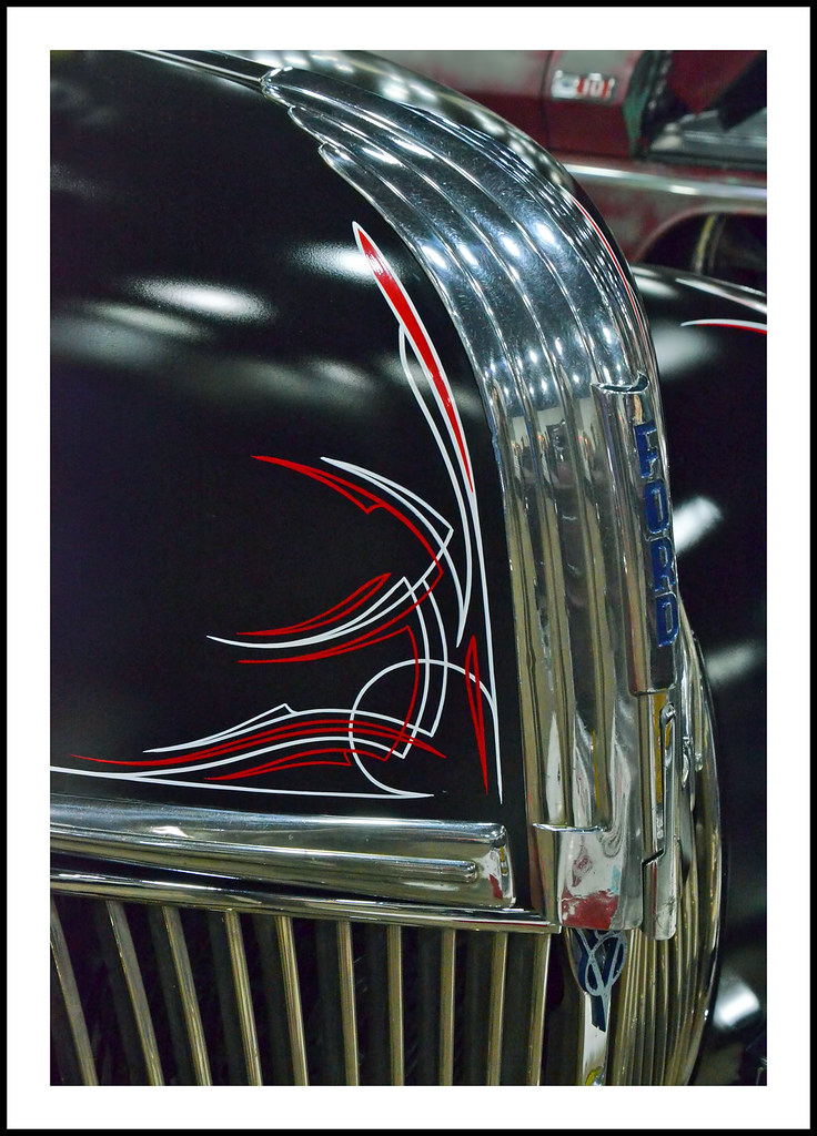 Pinstriping 1941 Ford Pickup Visit On February 24 2017 Flickr