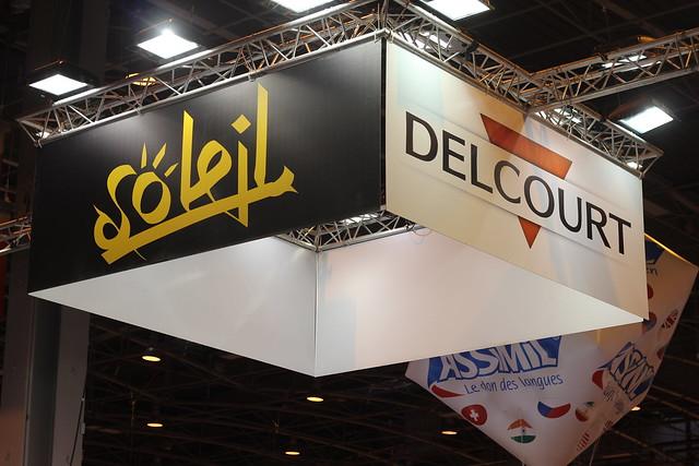 Soleil et Delcourt - Salon du Livre de Paris 2015