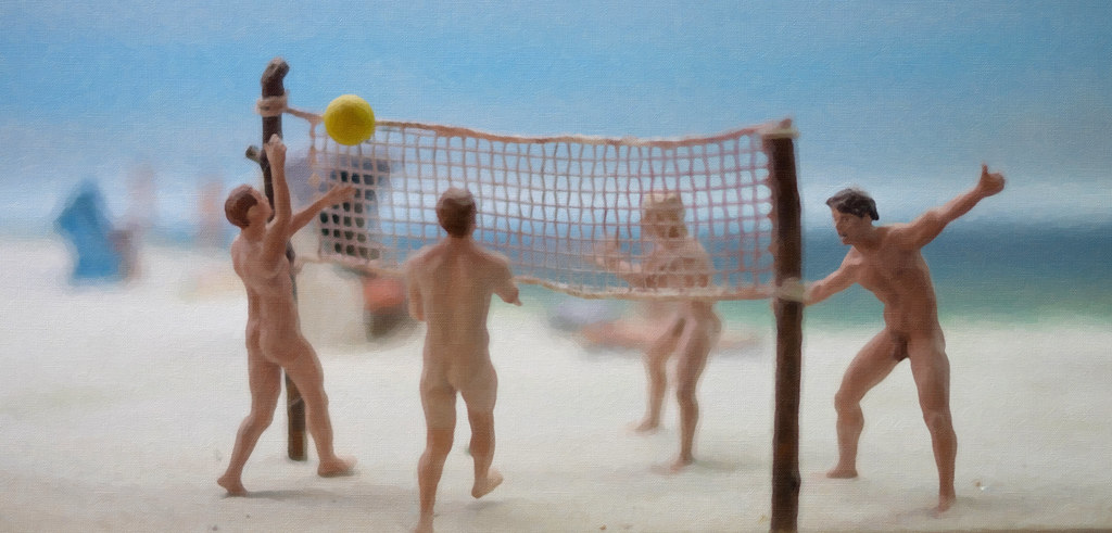 Nude volleyball males, oral sex technique with picture