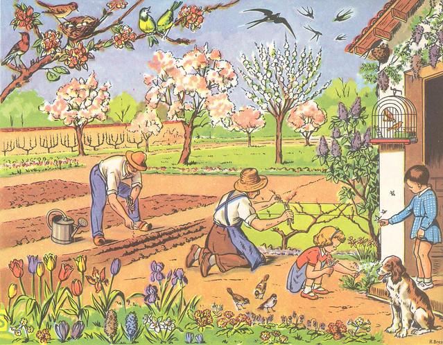 28 jardin au printemps