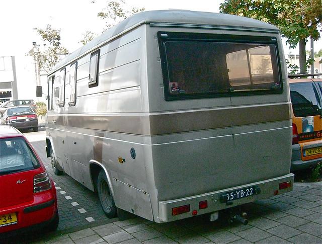 1975 MERCEDES-BENZ T2 508D Campervan