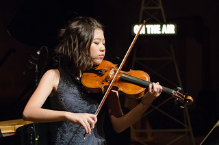 15-year-old violinist Claire Wellsd-2198 | by From the Top, Inc.
