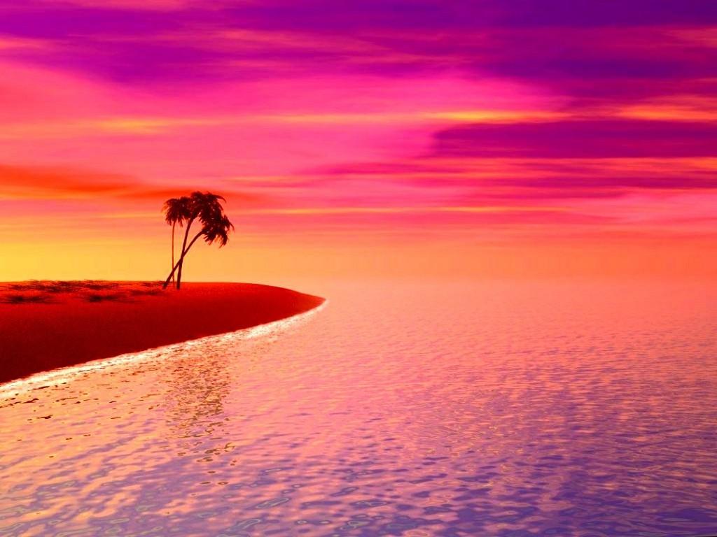 Purple Beach Sunset Tumblr Wallpaper Cool Backgrounds Flickr