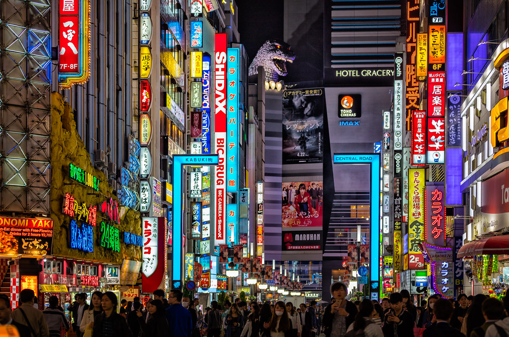 "Image result for Shinjuku, Tokyo"""