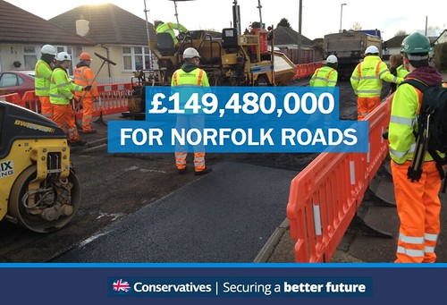 £150m to repair Norfolk Roads | by norfolkconservatives