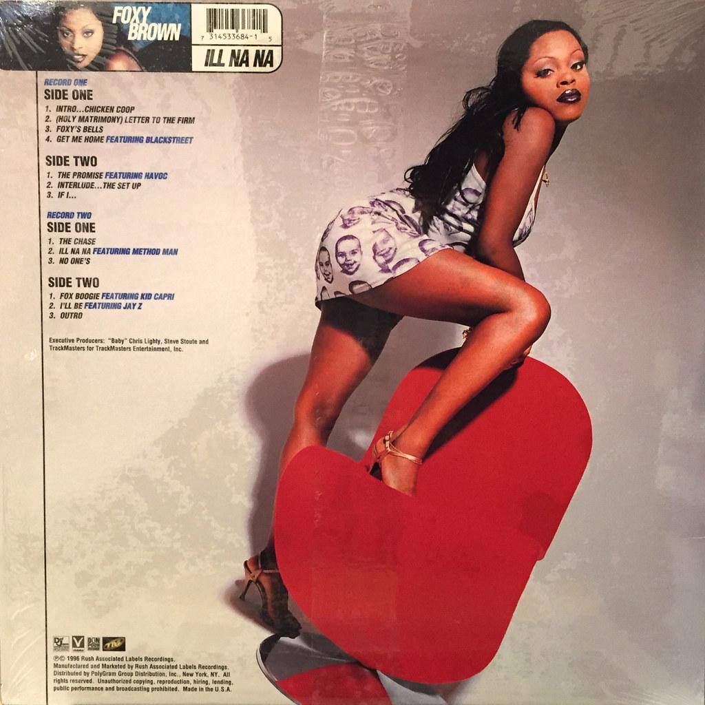 Foxy Brown Ill Na Na Jacket B Vinyl7 Records Flickr