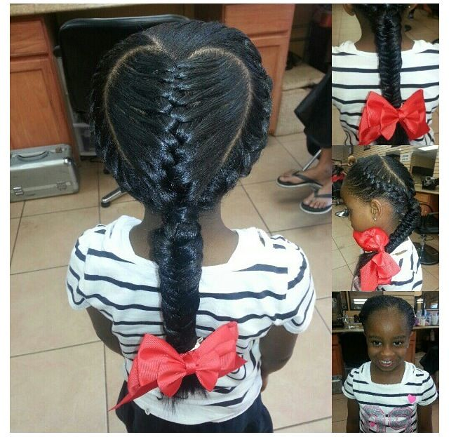 The Cute and Simple Little Black Girl Hairstyles | The Cute ...
