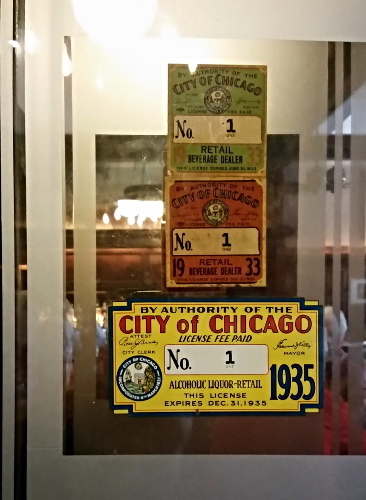 First Liquor License Issued After Prohibition