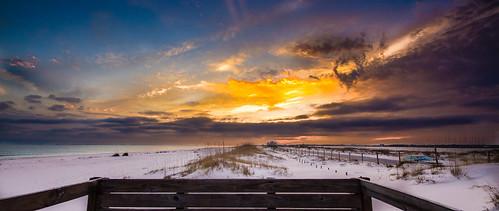 sunset canon florida gulfislandsnationalseashore perdidokey