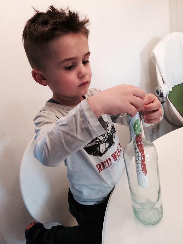 Edwin und die Flaschenpost