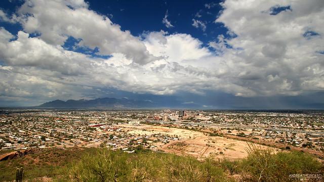 Overlooking Tucson from Sentinel Peak - Arizona