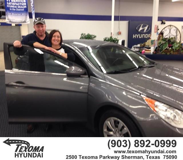 Congratulations to Cheryl and Brian Trinkle on your #Hyundai #Sonata purchase from Jane Smallwood at Texoma Hyundai! #NewCar