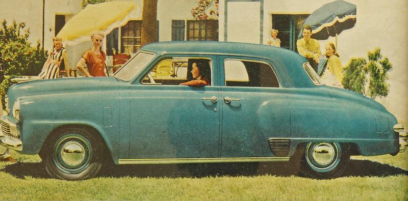 CM020 1947 Studebaker Car Ad Framed DSC04188 crop
