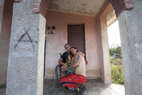 Gerson y Yohandra en su balcón | by trellesluis