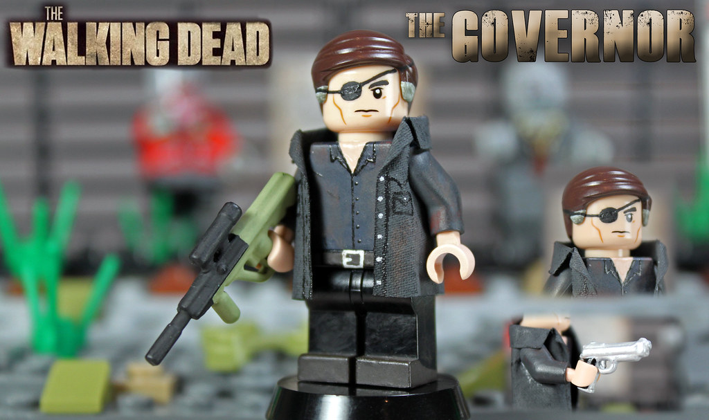 """Custom LEGO The Walking Dead: The Governor 
