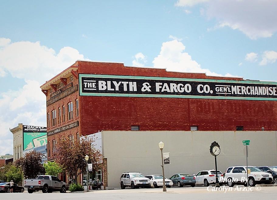 Blyth & Fargo Co  - Evanston, Wyoming | The Blyth & Fargo Ge… | Flickr