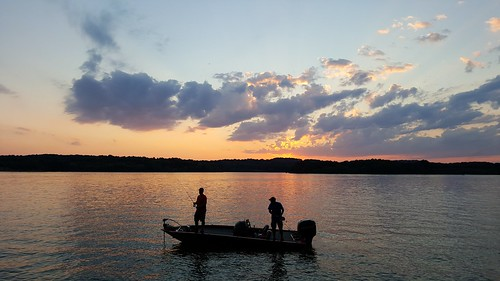 sunset sky lake reflection water beautiful beauty silhouette photography evening boat fishing fisherman sundown pennsylvania samsung pa boating leisure activity berkscounty photooftheday bluemarsh bassboat sunsetsilhouette samsungs6 saltydogphoto