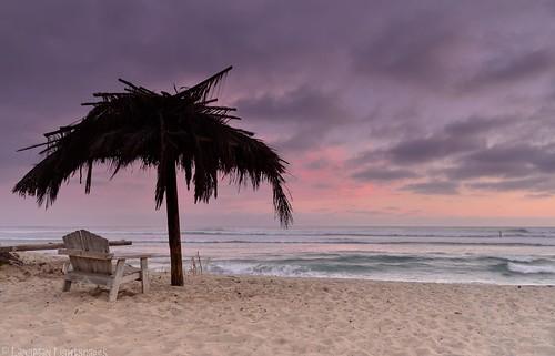 california sunset beach clouds bench easter sand nikon surf waves surfer surfing palm palmtree sanonofre palmsunday paddleboard paddleout surfbeach sanonofrestatebeach nikond800 singhrayfilterspalmsunday