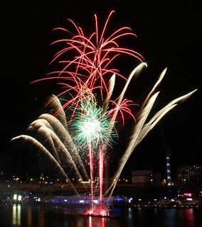 Fireworks, Darling Harbour, Sydney, Australia, April 18 2015   by Derek Keats