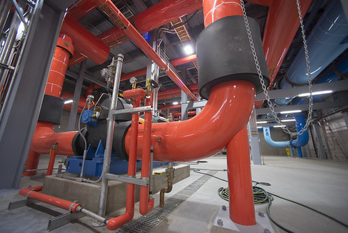 Color-coded pipes