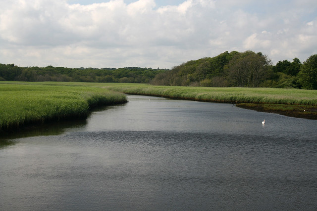 The Lymington River at Lymington