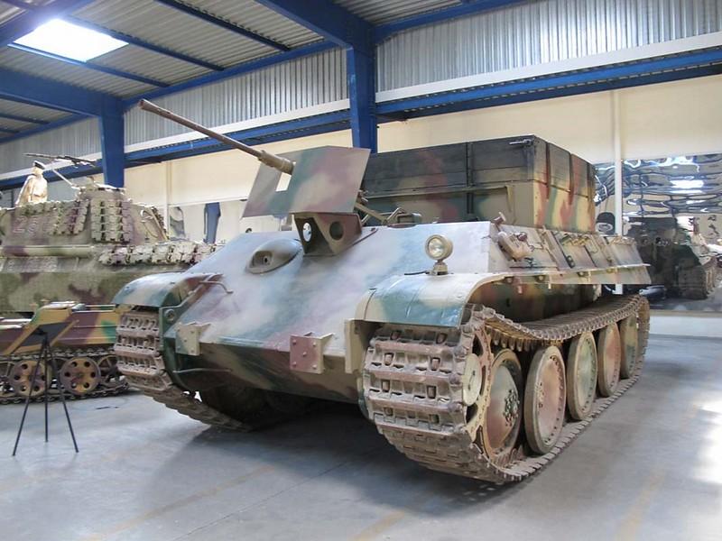 Sdkfz 179 Bergepanther 1