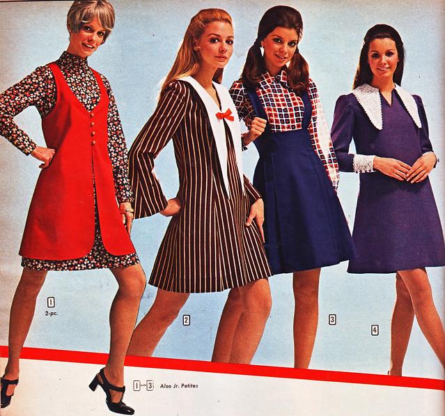 Aldens 70 fw four dresses