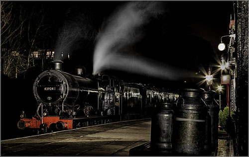 longexposure history yorkshire rail trains steam restoration renovation railways locomotives kwvr keighleyworthvalleyrailway