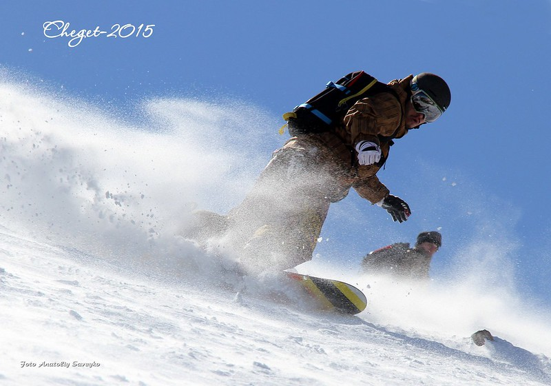 Wonderful snowboarding @ Cheget (Russia)