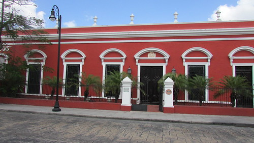 rear of one of the Casas Camara