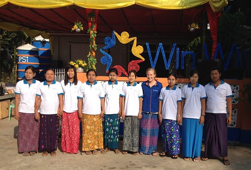 A new class of graduating agents in Myanmar | by Living Goods