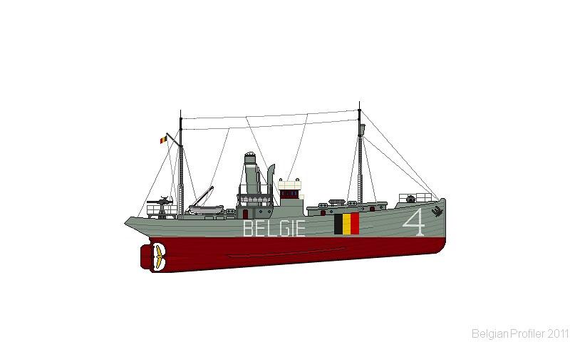 Belgian ship A4