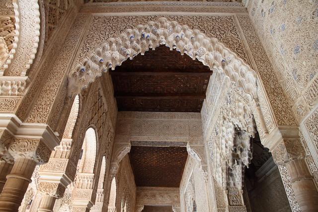 Alhambra de Granada. Patio de los leones