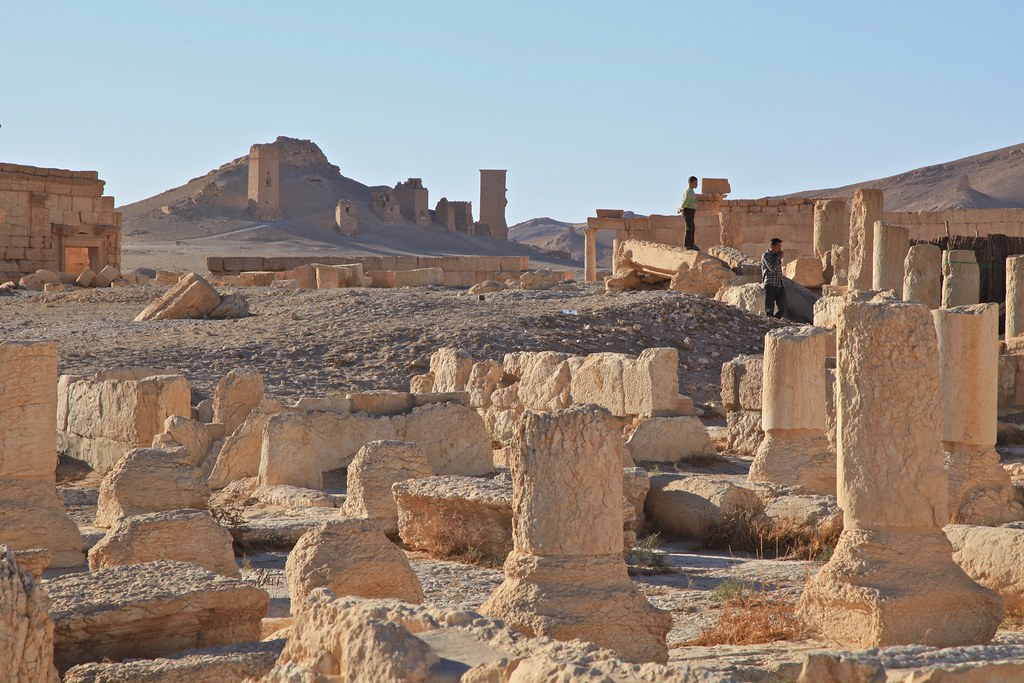 Inst For Study Of War World Heritage Site Map Syria Inhabitat