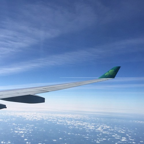 Off to the UK on Aer Lingus | by LilRonGal
