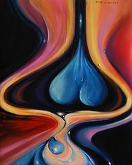 """""""Klein's Bottle"""", oil on canvas, 40x50 cm"""